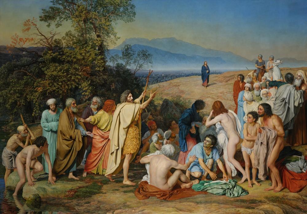 Александр Иванов, «Явление Христа народу», 1837–1857 Реализм, 2-я половина XIX века