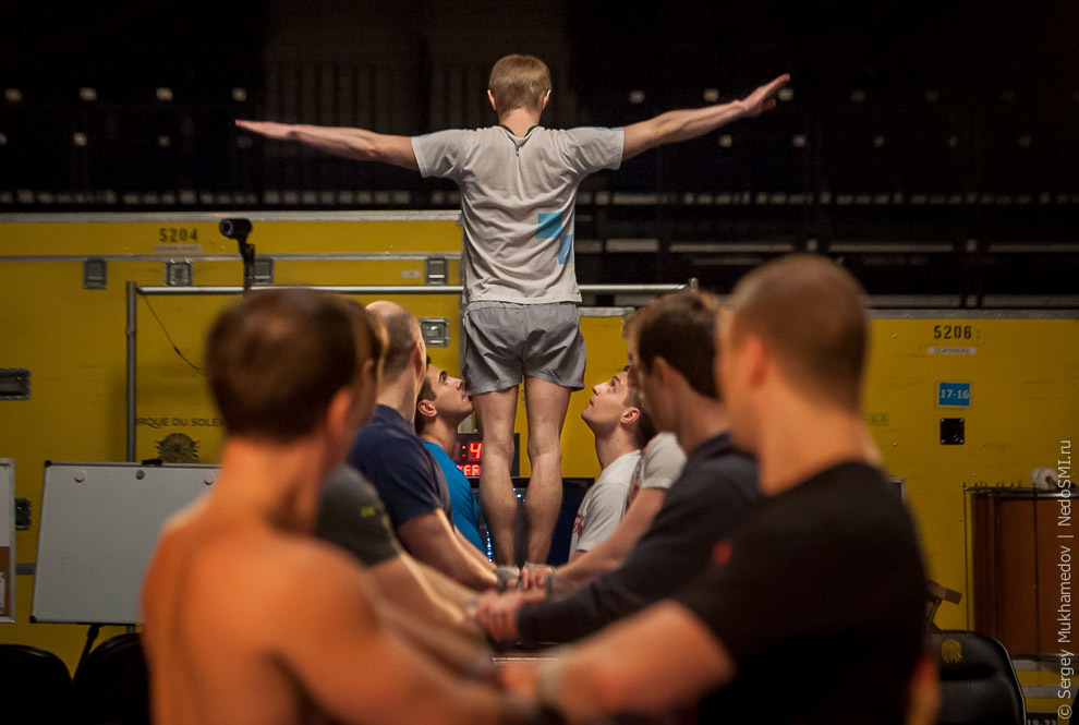 22. Путь к карьере в Cirque du Soleil для всех один. Вне зависимости от того, кем вы хотите раб