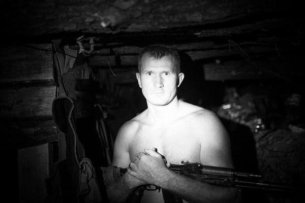 Под Донецком отпули снайпера умер прошлый миротворец