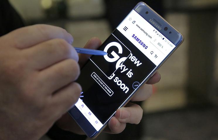 В руководстве США попросили неиспользовать Galaxy Note 7