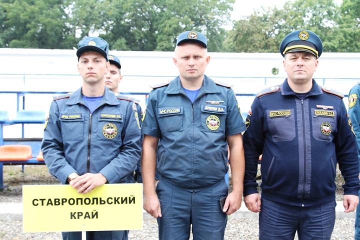 Команда КБР заняла первое место на областном чемпионате МЧС