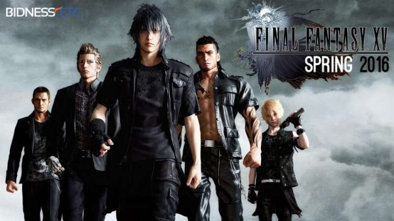 Final FantasyXV ушла назолото