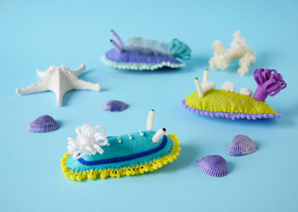 New Felted Toy Specimens by Hine Mizushima