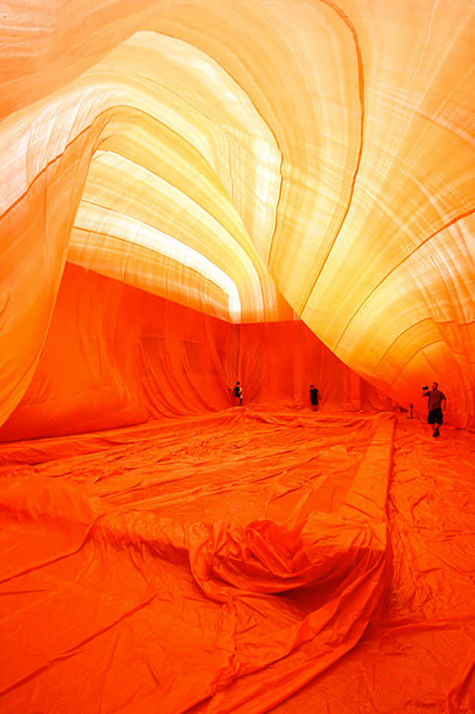 Inflatable Art Installations by Penique Productions