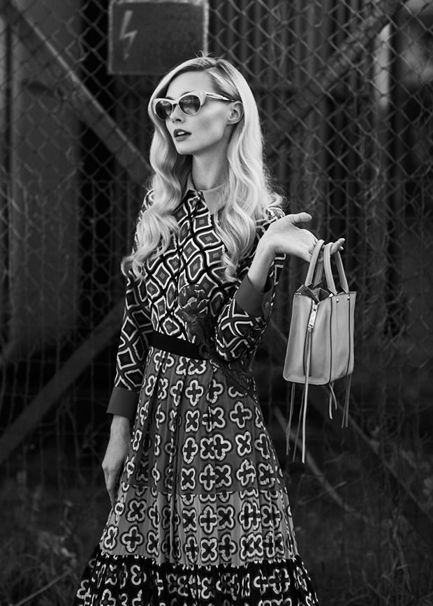Dress GUCCI  bag Rebecca Minkoff sunglasses TOM FORD