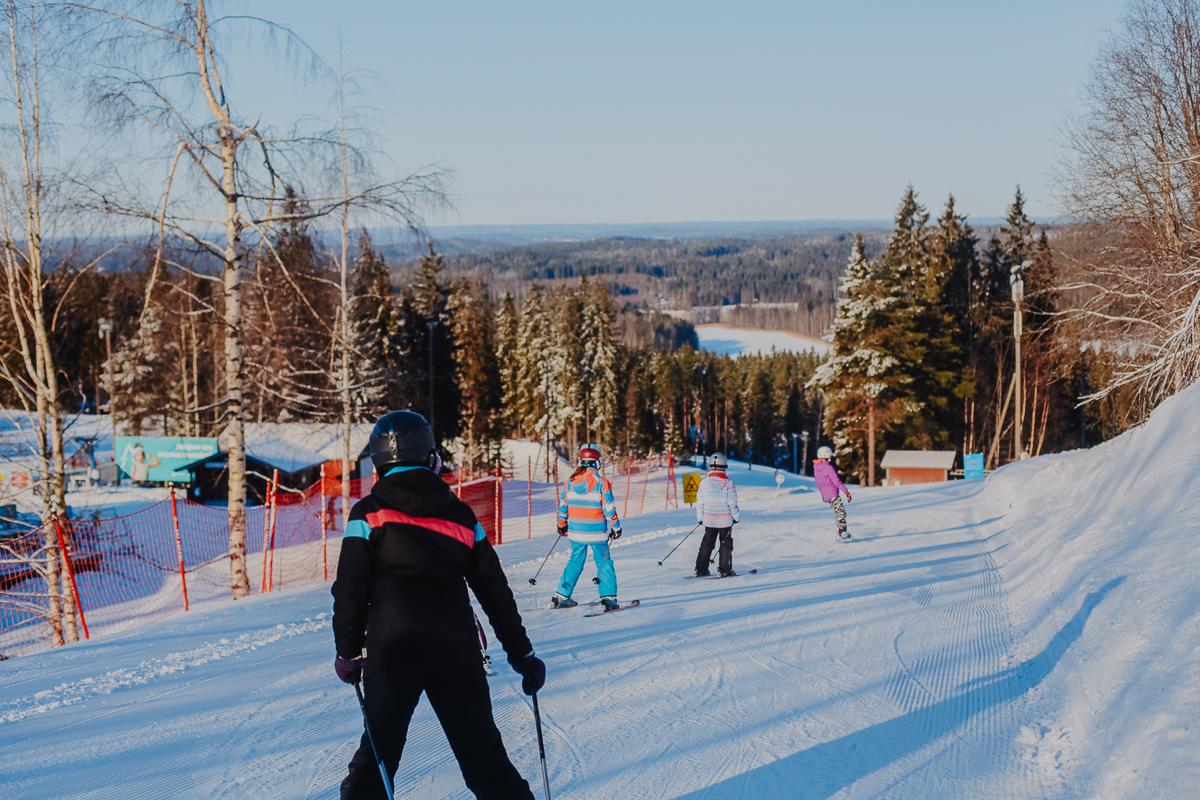 Про горнолыжный парк Sappee в Финляндии