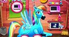 Пони Радуга Дэш Рожает Малышку (Rainbow Dash Baby)