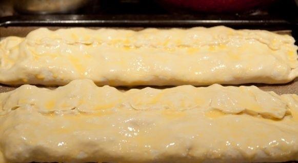 Слоеное тесто с творогом рецепты с пошагово