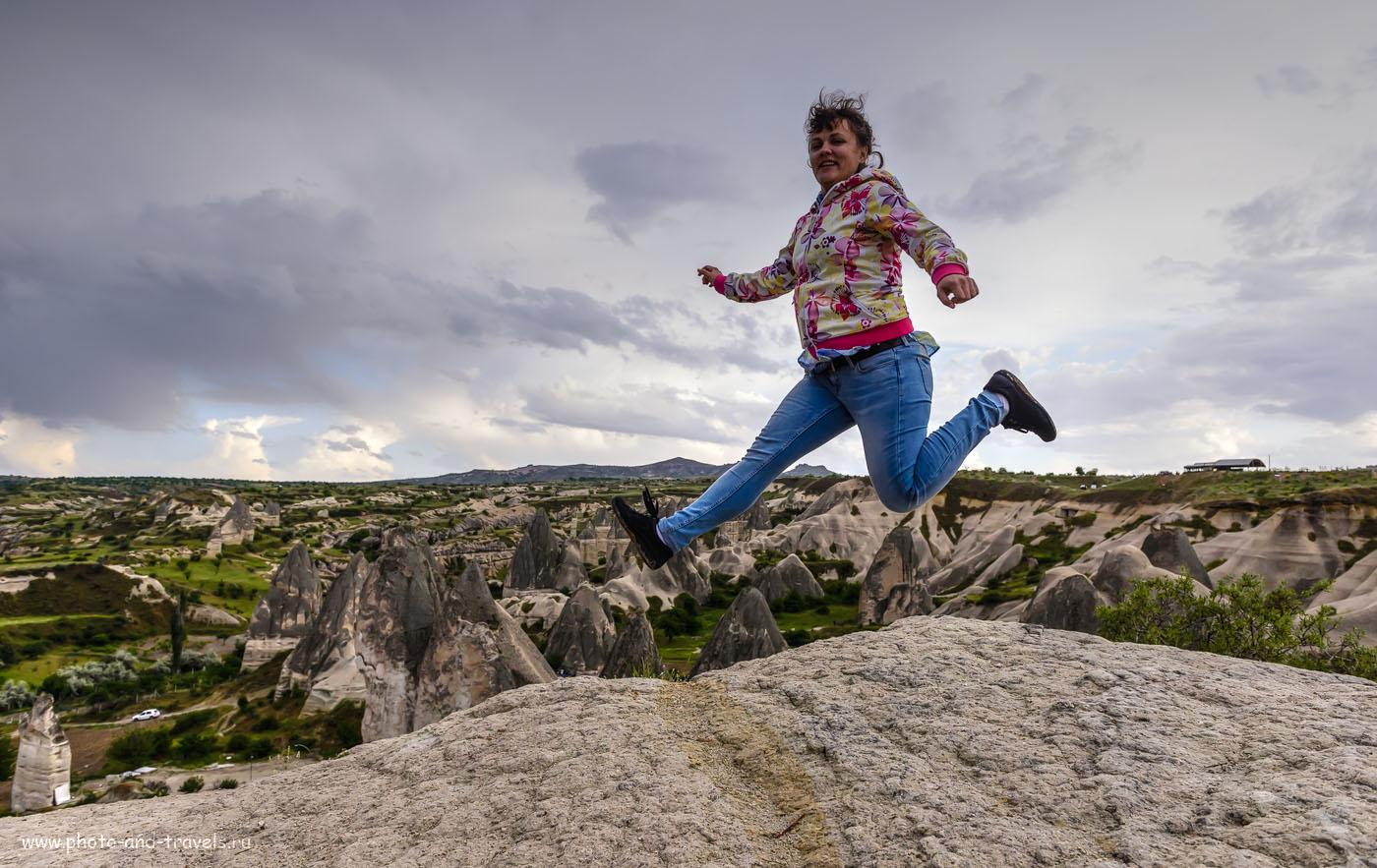 Фотография 14. Полеты над Каппадокией. Деревня Göreme – центр природного парка. Отчеты туристов об отдыхе в Турции дикарями. Тонмаппинг. 1/500, -1.0, 6.3, 500, 24.
