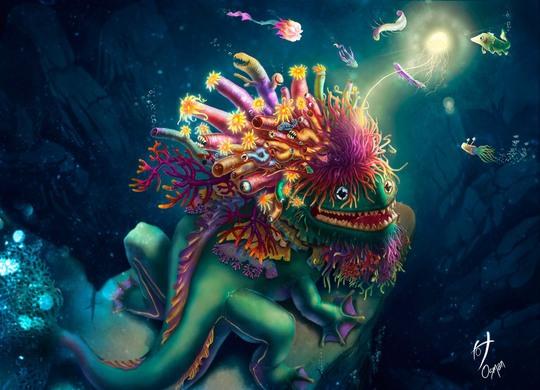 Digital Art by Osman A. Hernandez Vides