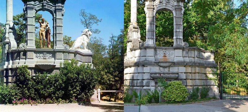 Массандра. У дворца в саду 1904-2016.jpg