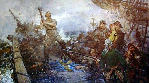 Иван Рябов - один из главных героев романа Ю.Германа Россия молодая.jpg