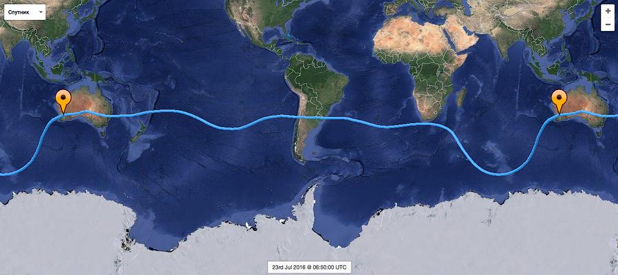 Конюхов успешно финиширует в Австралии! Кругосветная экспедиция завершена.