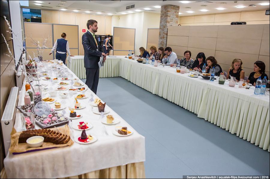 Дегустация меню бизнес-класса в Домодедово