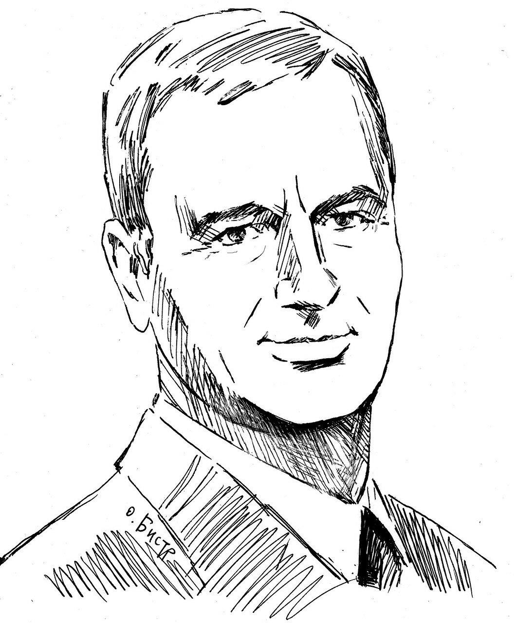 Novikov V portrait