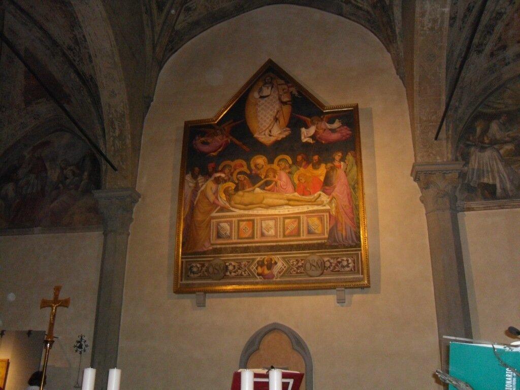 Н. Джерини - Оплакивание Христа (1385-90)