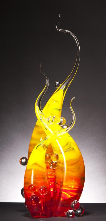 Рик Эггерт. Танец пламени и воды.