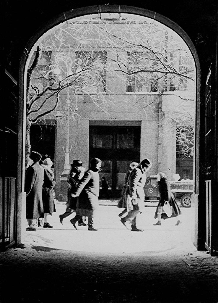 1965. Холодный день в январе
