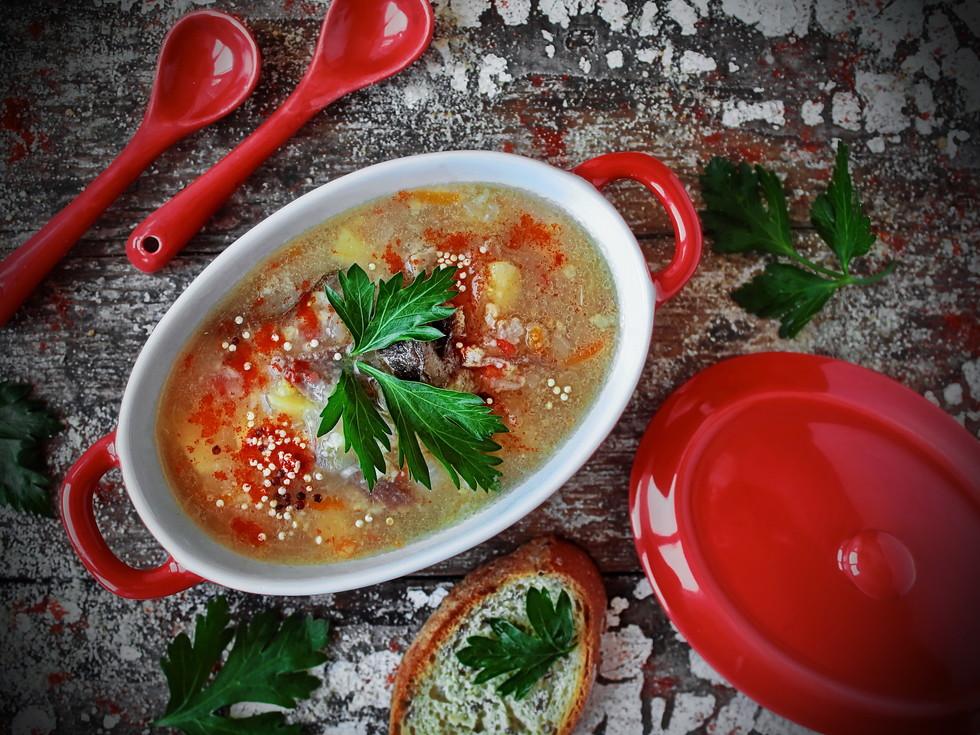 Похмельный суп от лазерсона