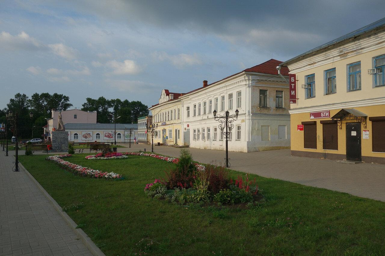 центр, старые здания
