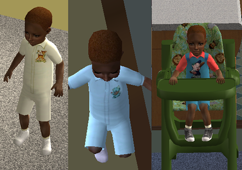 Retro Baby Rompers by Gayars