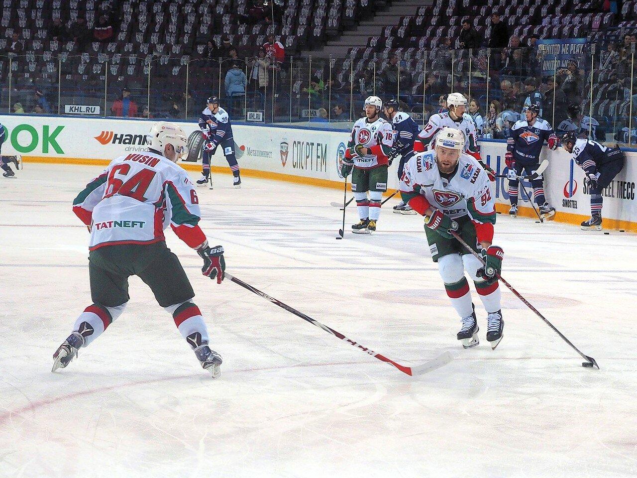 13 Первая игра финала плей-офф восточной конференции 2017 Металлург - АкБарс 24.03.2017