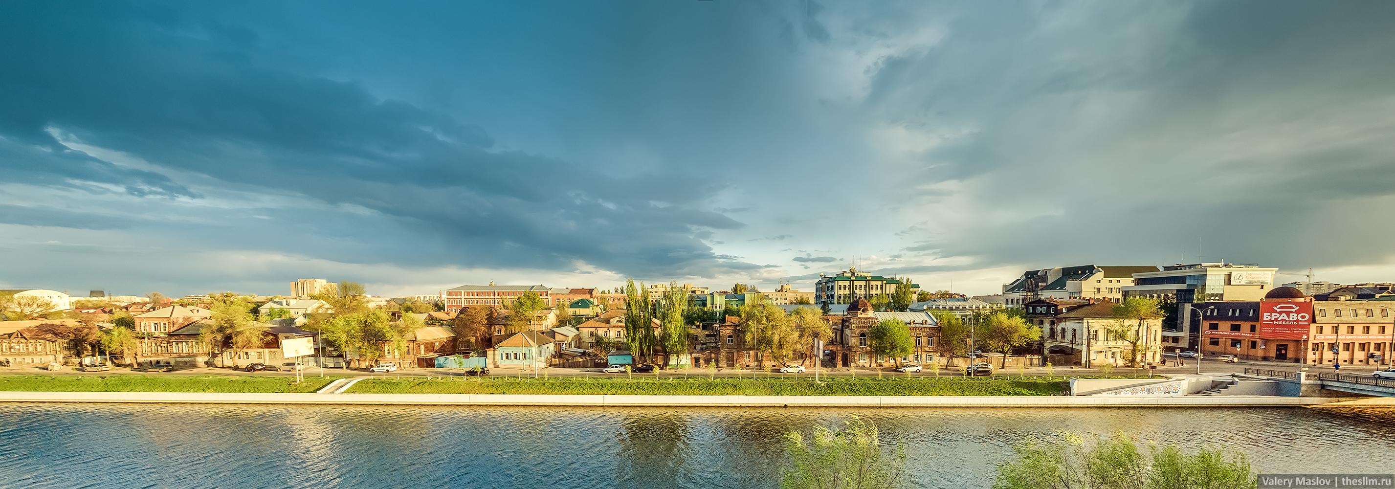 Вид на Набережную 1 Мая (Варвациевский канал)