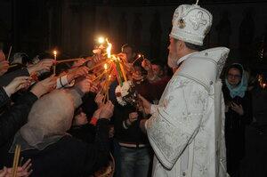 """Învierea Domnului în catedrala """"Sf.Împ.Constantin și Elena"""" din Bălți"""