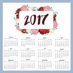 Календарь 2017. Цветы открытки фото рисунки картинки поздравления