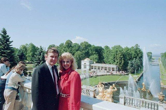Дональд Трамп со своей первой женой