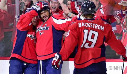 Александр Овечкин набрал 1000-е очко вчемпионатах НХЛ