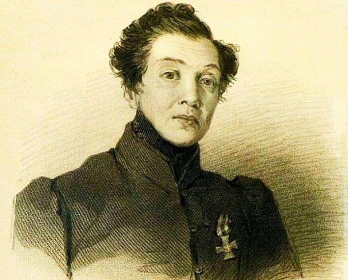 В. Гау. Н. А. Дурова, 1837 | Фото: topwar.ru Надежда была нежеланным ребенком: ее мать хотела