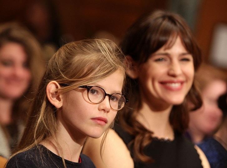 Десятилетняя Вайолет — старший ребенок кинозвезд Бена Аффлека и Дженнифер Гарнер. В прошлом году мал