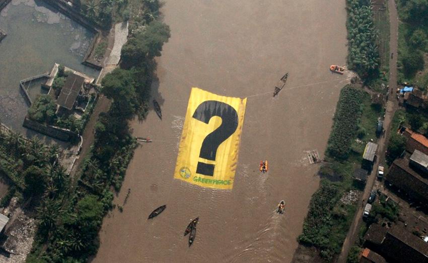 3. Читарум, Индонезия Эта река в Западной Яве стала опасной из-за безответственности людей, которые