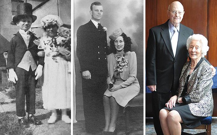 В 1995 году они несли цветы и подушечку с кольцами на чужой свадьбе, а 20 лет спустя поженились