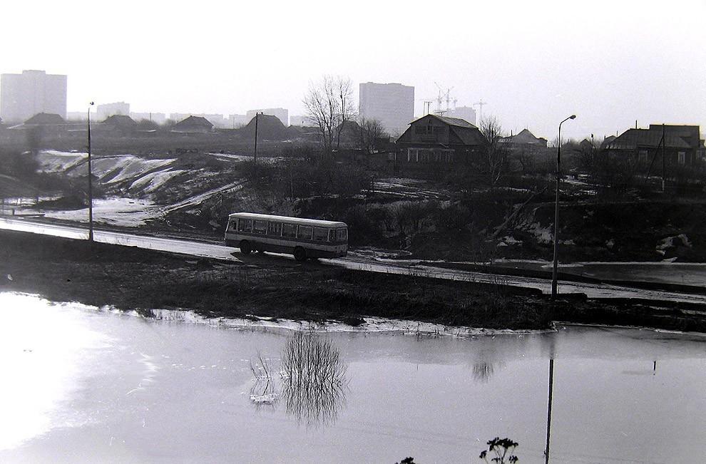 41. Боровское шоссе, д. Никулино, весна 1980 г.