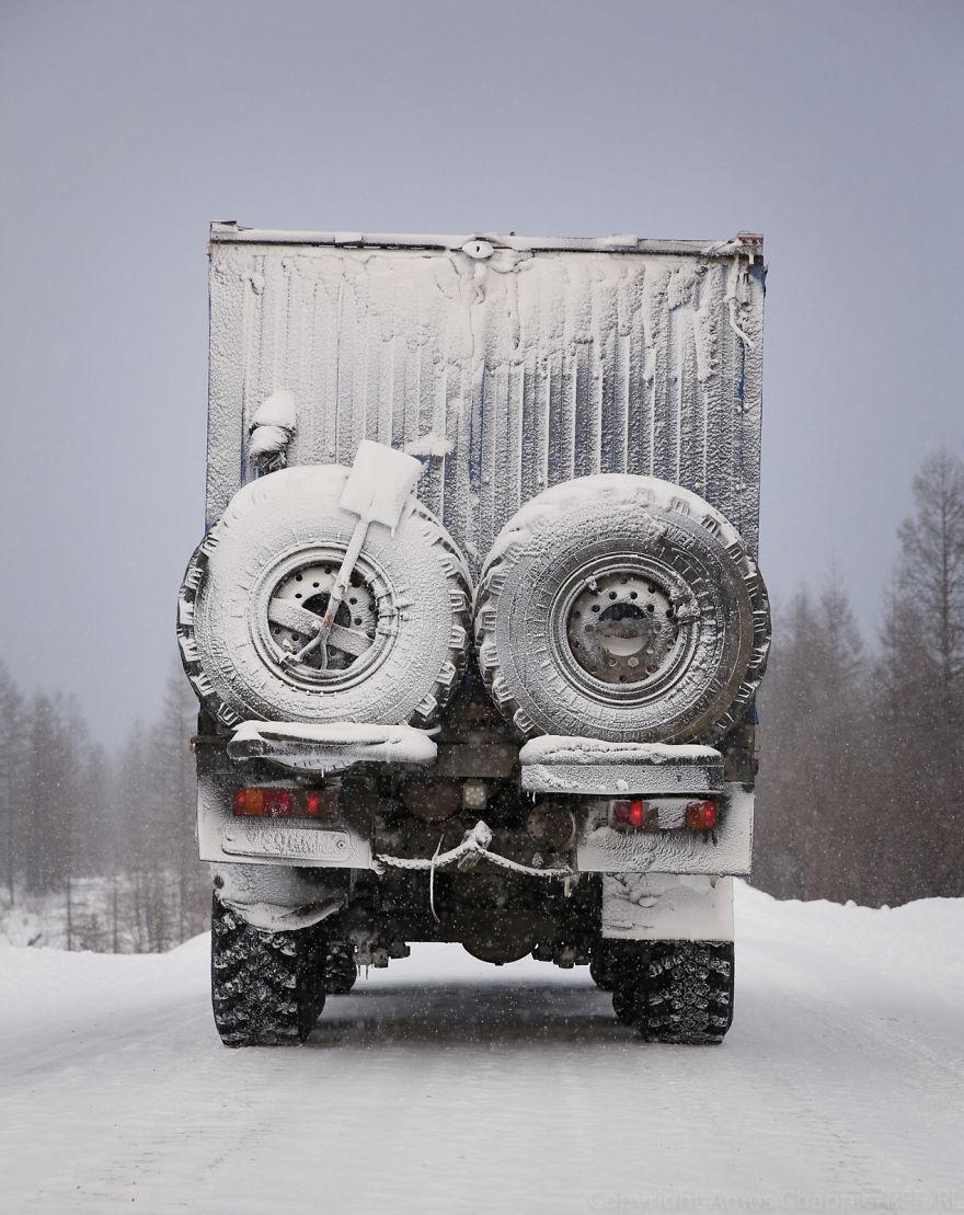 Собственно, его грузовик.