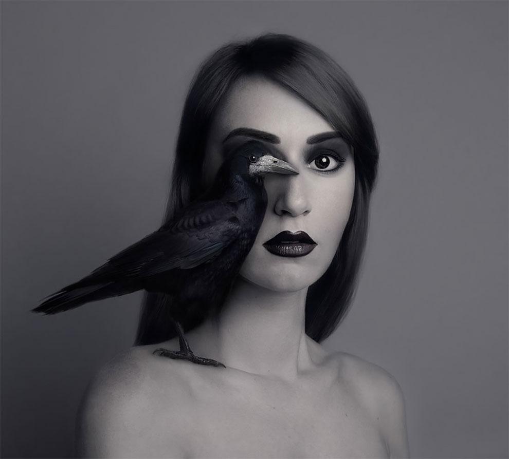 Флора Борси, молодая талантливая фотохудожница из Венгрии, получила известность благодаря безупречно