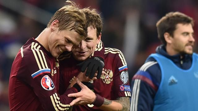 Кокорин иМамаев получили 30 млн. руб. завыход наЕвро