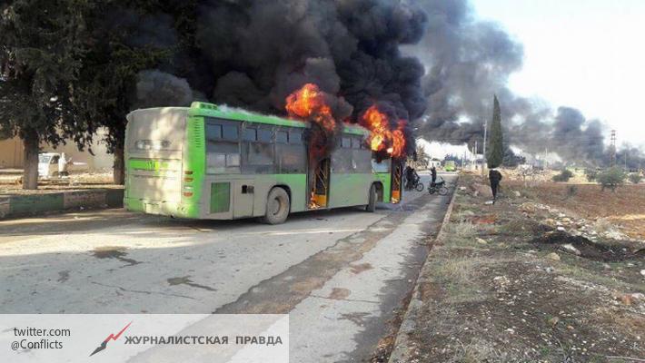 Завершение эвакуации людей извосточного Алеппо временно отложили