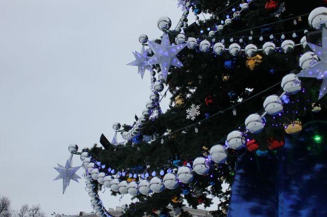 ВБарнауле 24декабря состоится открытие новогодних елок