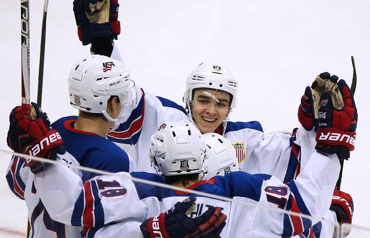 Молодежная сборная РФ обыграла датчан начемпионате мира