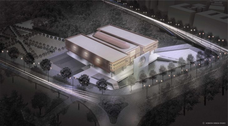 INDIAN NATIONAL WAR MUSEUM Design by HORIZON DESIGN STUDIO