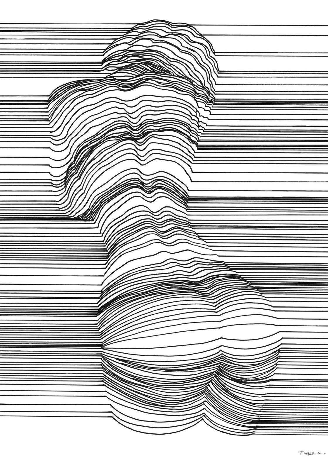 Sensual Lines - The suggestive illustrations of Nester Formentera
