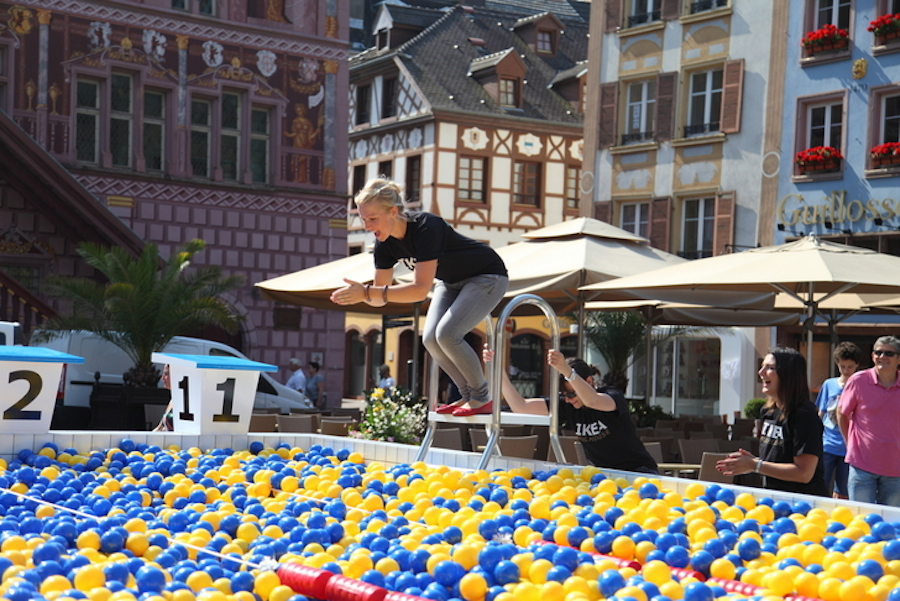 A Ball Pool in France by IKEA