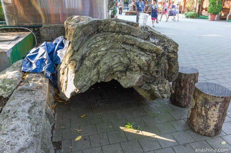 Бывший жертвенный камень