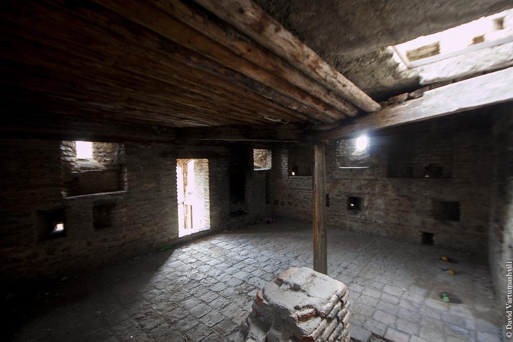 Грузия, замок Амилахвари в селе Квемо-Чала