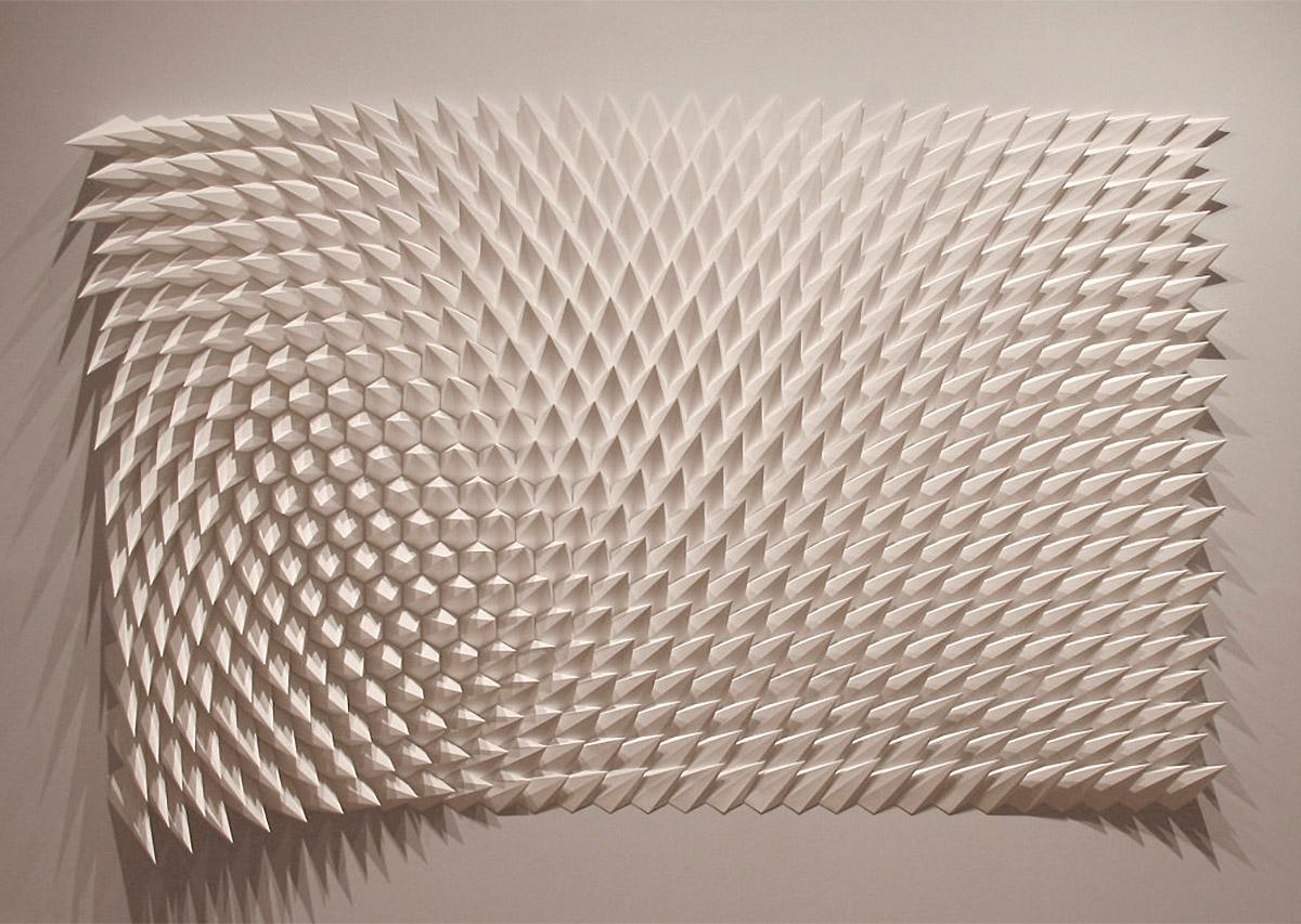 Gorgeous Geometric Paper Sculptures by Matthew Shlian (16 pics)