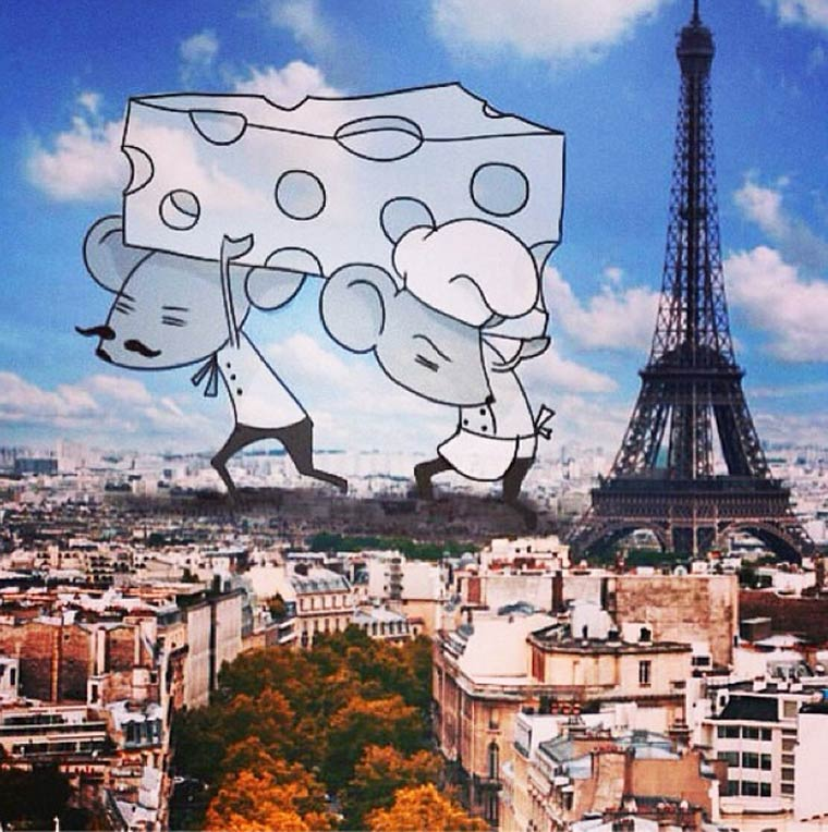 The Dreaming Clouds - 23 nouveaux doodles de l'hotesse de l'air creative