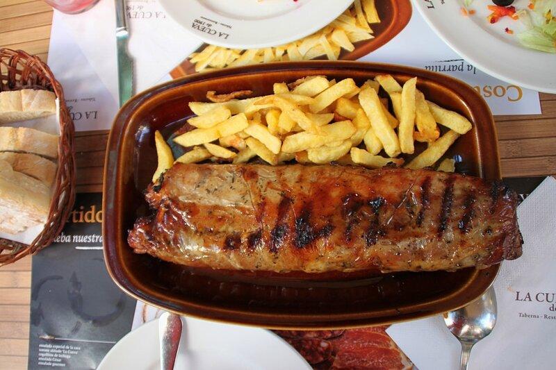 Еда (мясо) в Испании (Food (meat) in Spain)